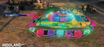T-54 Skin 1.0.2.4++ [1.0.2.4], 1 photo